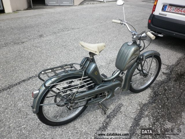1955 Zundapp Zündapp Combinette, absolute original condition, Bj.54