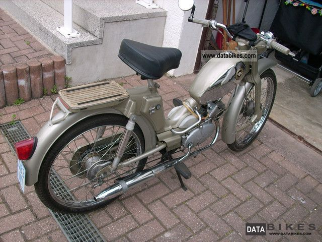 1967 Zundapp  Zündapp M50 climbers Motorcycle Motor-assisted Bicycle/Small Moped photo