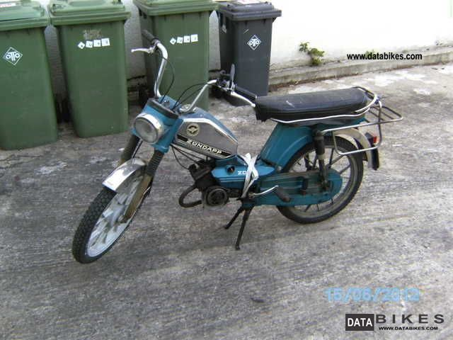 1980 Zundapp  Zündapp ZD 30 Motorcycle Motor-assisted Bicycle/Small Moped photo