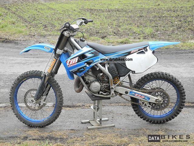 2000 TM  125 Motorcycle Rally/Cross photo