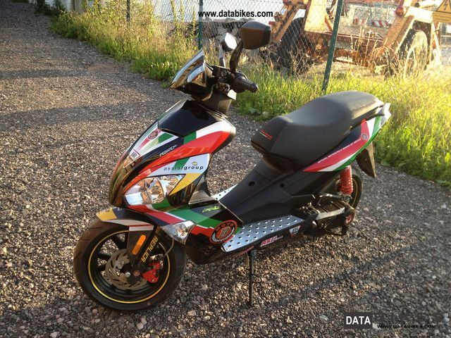 2012 Motobi  Pesaro 50 Super Sport Replica original price 1799th - Motorcycle Scooter photo