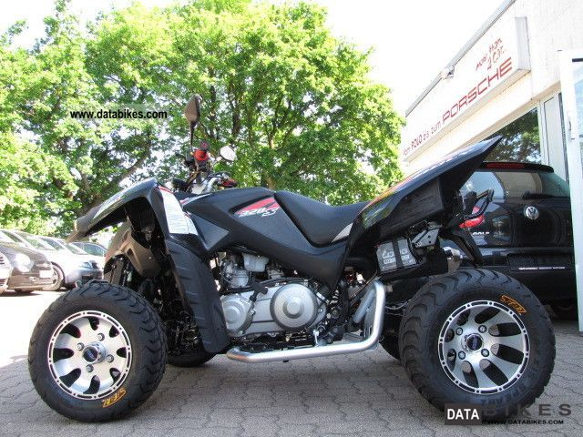 2012 Adly  320S SUPERMOTO now NEW WIDE FLAT + + SCHWAZ Motorcycle Quad photo
