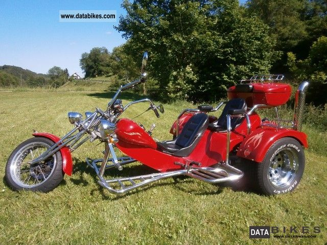 2002 Rewaco  HS-4 two-seater Motorcycle Trike photo
