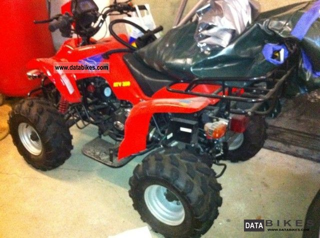 2012 Bashan  BS3 200 ATV Quad new vehicle is delivered completely mounted Motorcycle Quad photo