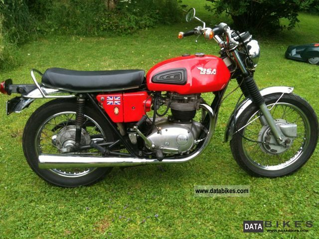 BSA  A 65 Thunderbolt 1972 Vintage, Classic and Old Bikes photo