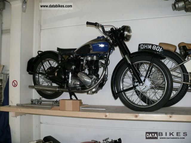 BSA  Others 250 ohv 1956 Vintage, Classic and Old Bikes photo