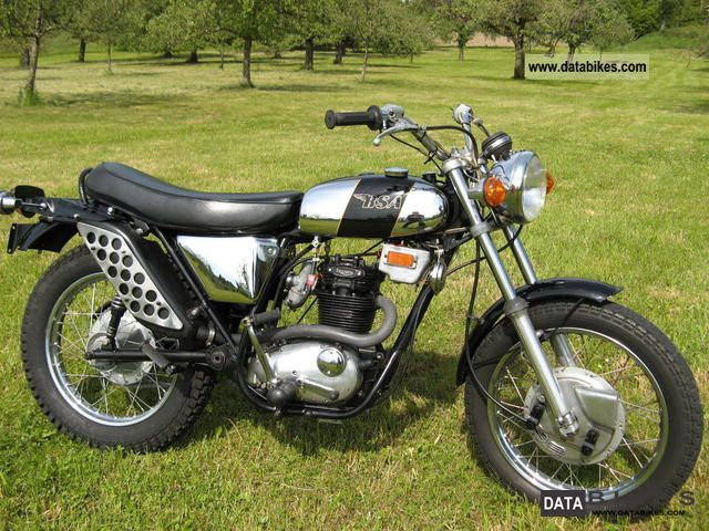 BSA  B25 SS, top, TÜV again 1971 Vintage, Classic and Old Bikes photo