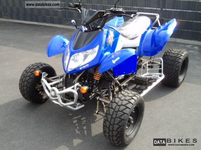 2012 PGO  X-Fire 300 SUPER FLAT new automatic Motorcycle Quad photo