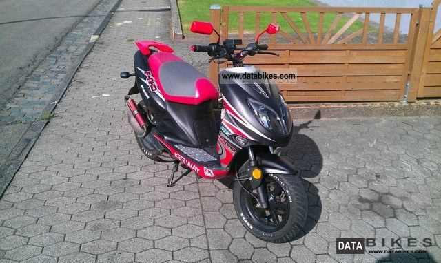 2009 Keeway  F-50 ACT NKD 25 km / h Motorcycle Scooter photo