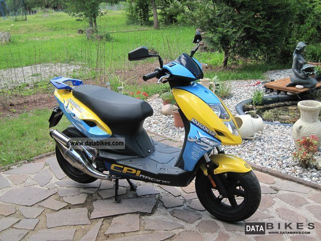2009 CPI  25 JR Motorcycle Motor-assisted Bicycle/Small Moped photo