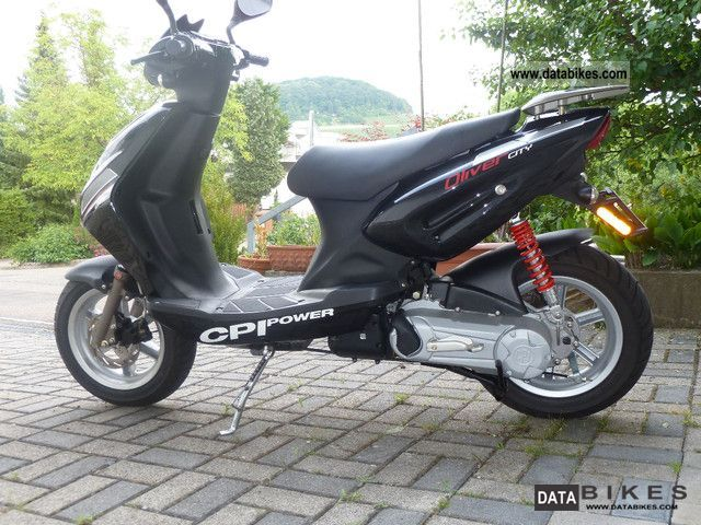 CPI  Oliver City - almost new scooter with low mileage 2009 Scooter photo