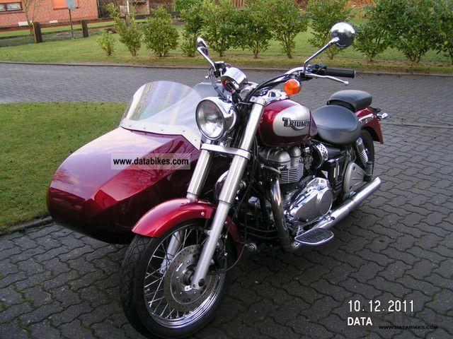 2003 Triumph  Bonneville America 800 Motorcycle Combination/Sidecar photo