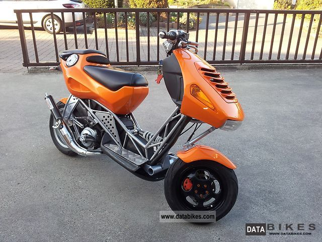 2001 Italjet  dragster Motorcycle Scooter photo