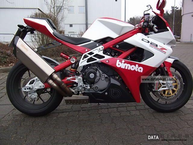 2008 Bimota  DB 7 Motorcycle Sports/Super Sports Bike photo