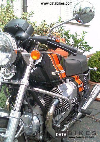 Moto Guzzi  1000 S 1990 Naked Bike photo