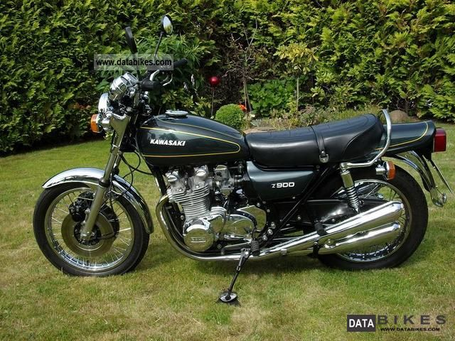 Kawasaki  Z 900 1976 Vintage, Classic and Old Bikes photo