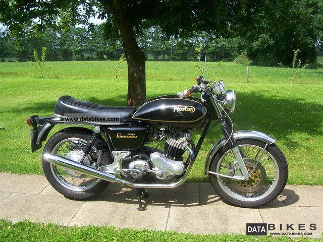 1970 Norton  Commando 750 Motorcycle Motorcycle photo