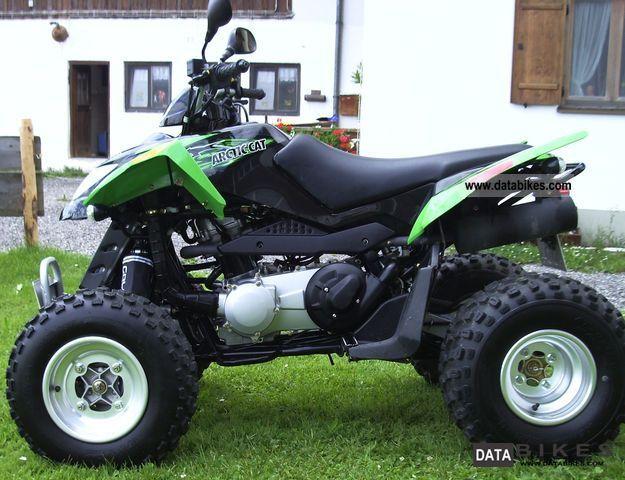 2010 Arctic Cat  DVX 300 Motorcycle Quad photo