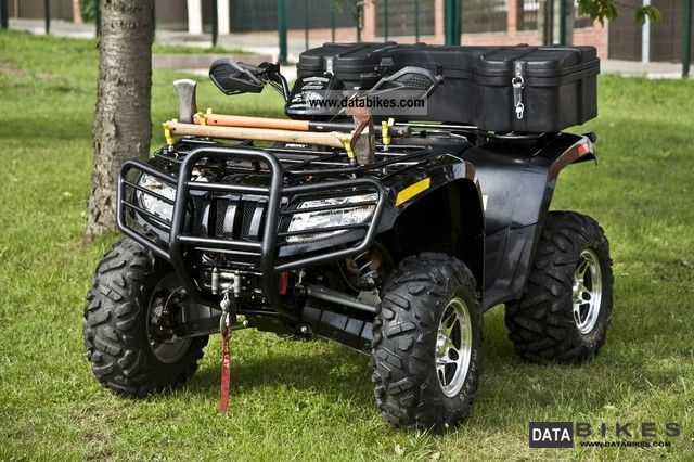 2010 Arctic Cat  700 Panther Black Edition Motorcycle Quad photo