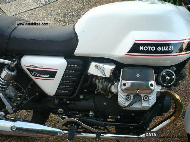 2010 Moto Guzzi  V7 Classic Motorcycle Motorcycle photo