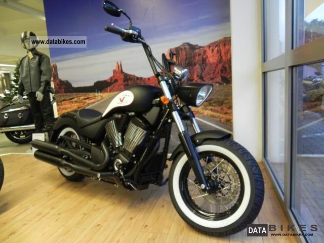 2012 VICTORY  Highball black matte Motorcycle Chopper/Cruiser photo
