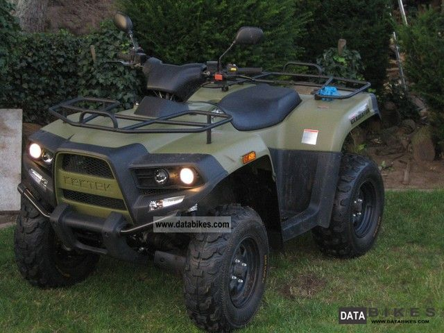 2009 Cectek  Gladiator Motorcycle Quad photo