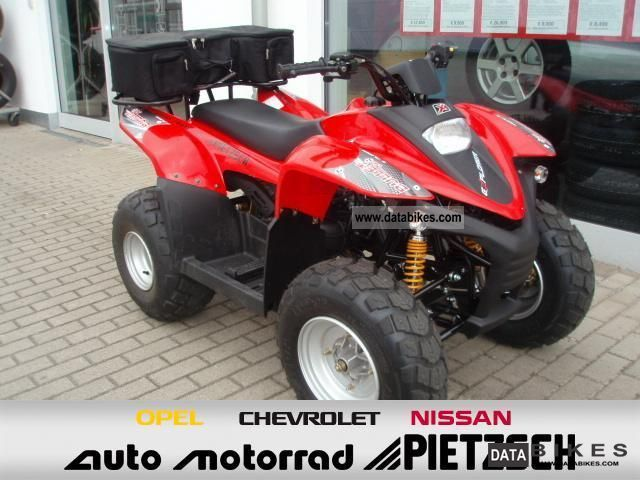 2012 Explorer  BULLET 50 QUAD Automatic ACTION Motorcycle Quad photo