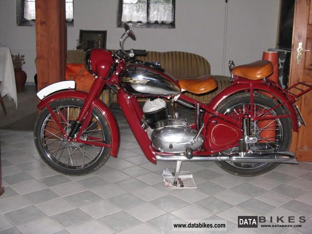 Jawa  Perak 1953 Vintage, Classic and Old Bikes photo