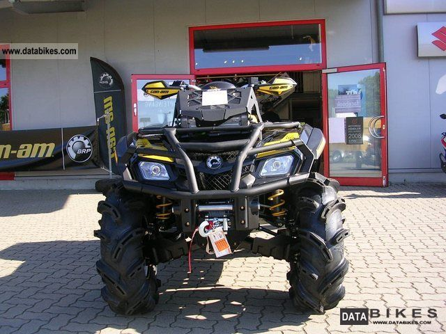 2012 Can Am  Outlander 800, INT CAN AM Outlander 800 XMR Motorcycle Quad photo