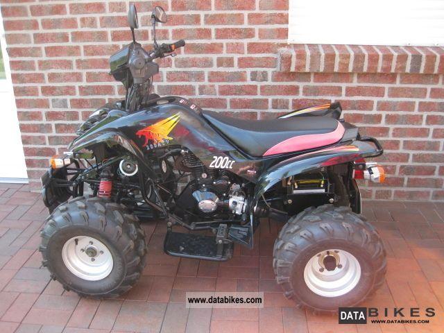 2009 Bashan  200cc Motorcycle Quad photo