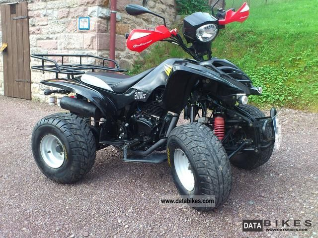 2007 Bashan  BS 200 S-3 \ Motorcycle Quad photo