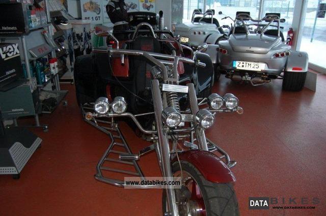 2008 Rewaco  RF 1 GT Turbo Motorcycle Trike photo