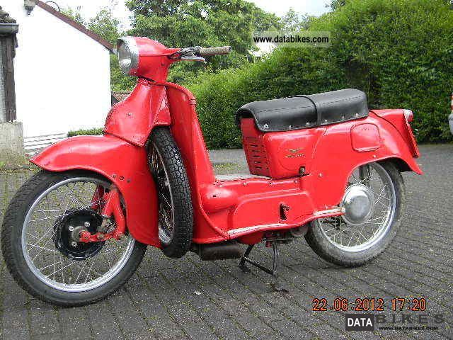 Moto Guzzi  Galetto Elettrico 1962 Vintage, Classic and Old Bikes photo