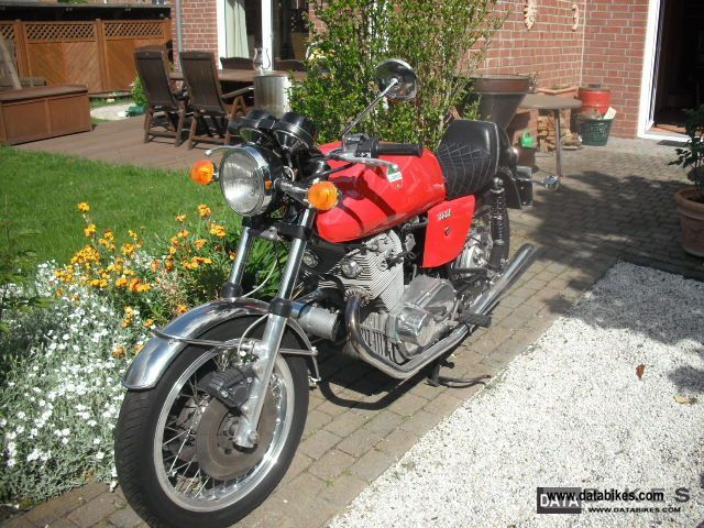 1974 Laverda  SF2 Motorcycle Motorcycle photo