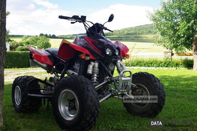 2009 Arctic Cat  DVX 400 LOF approval ident. LTZ KFX Motorcycle Quad photo