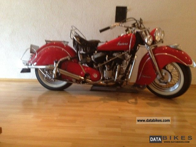 Indian  Chief 1947 Vintage, Classic and Old Bikes photo