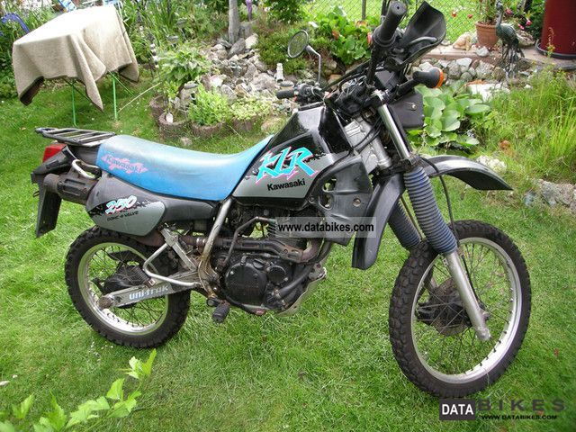 Kawasaki  KLR 250 1991 Enduro/Touring Enduro photo
