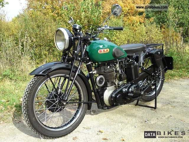BSA  M22 ohv 1938 Vintage, Classic and Old Bikes photo