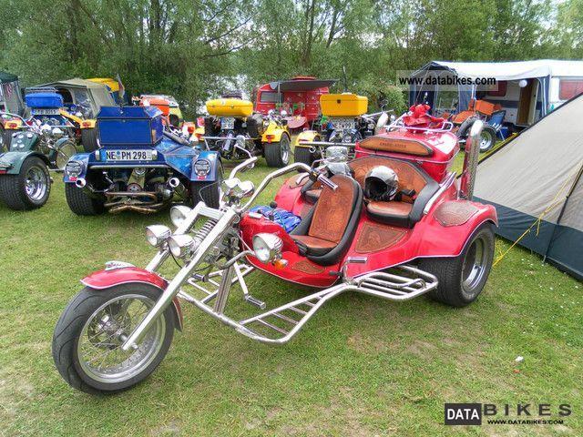 2010 Rewaco  FX 5 3Sitzer Family Motorcycle Trike photo