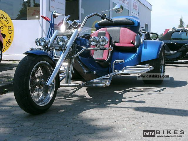 2009 Rewaco  FX5 TOUR 1.6i Family Motorcycle Trike photo