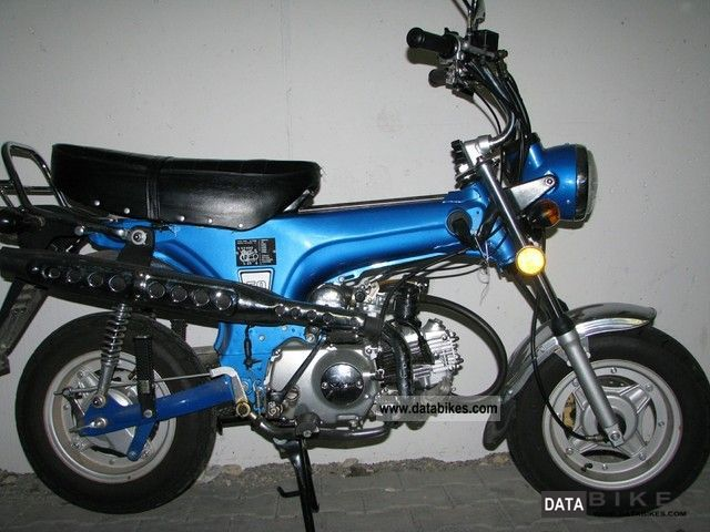 2008 Skyteam  Dax 50 4 - stroke Motorcycle Motor-assisted Bicycle/Small Moped photo