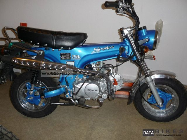 2010 Skyteam  Skymax ST 125-6 LE Blue Edition Motorcycle Motorcycle photo
