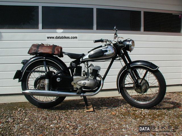 DKW  RT 125/2 H 1957 Vintage, Classic and Old Bikes photo