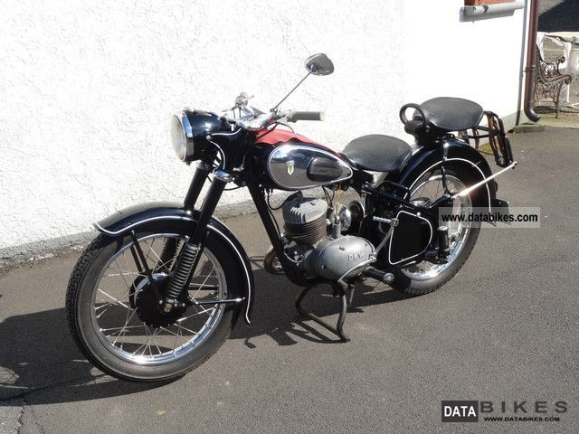 DKW  RT 250 1952 Vintage, Classic and Old Bikes photo