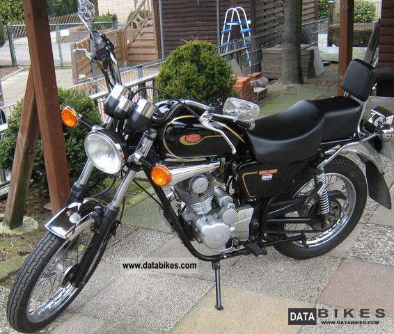 2004 Jawa  125 Motorcycle Chopper/Cruiser photo