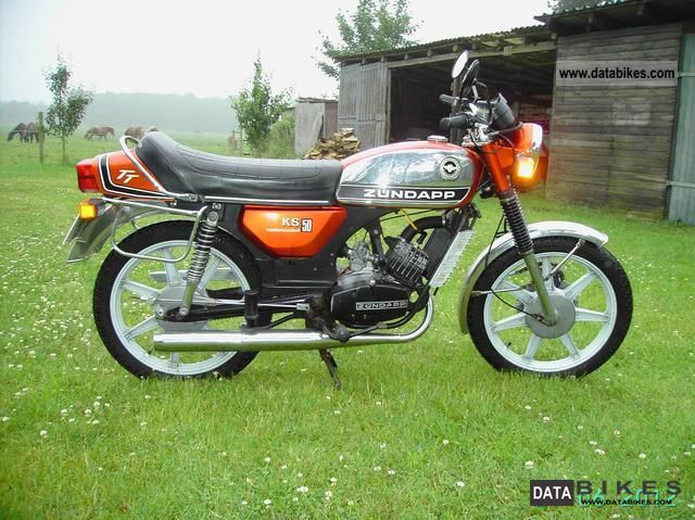 Zundapp  Zundapp KS 50 530-01 TT Watercooled 1974 Vintage, Classic and Old Bikes photo