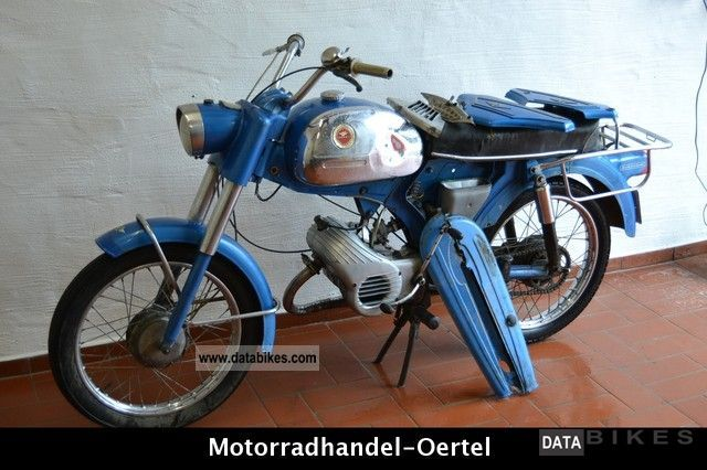 Zundapp  Sport Zundapp Combinette 50 Type: 517-02 Shipping 99 - 1967 Vintage, Classic and Old Bikes photo