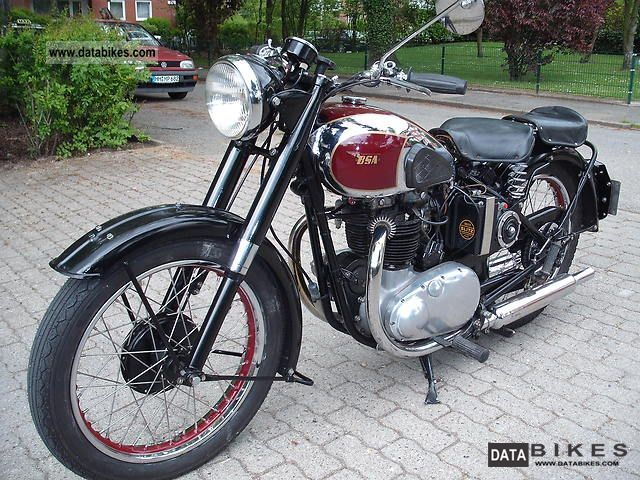 1949 BSA  A7 Star Twin Motorcycle Motorcycle photo
