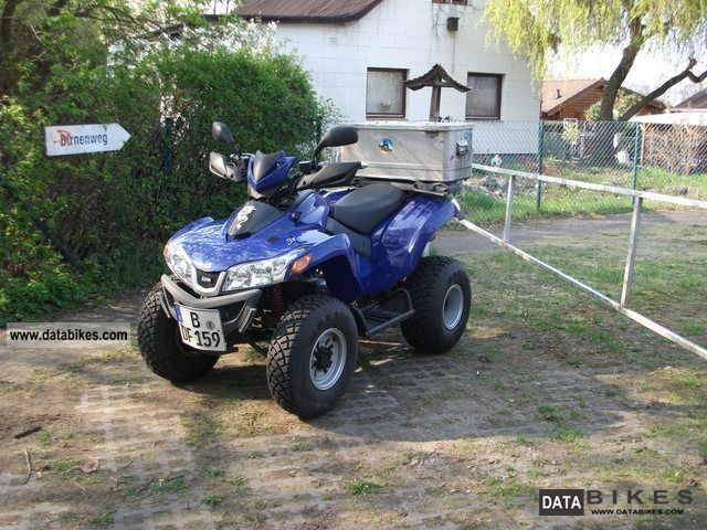 2009 SYM  Quad lander 250 Motorcycle Quad photo