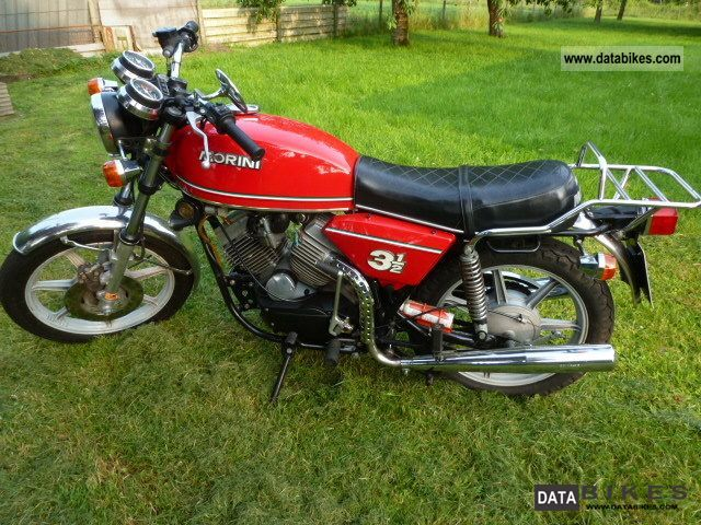 Moto Morini  350 3-1/2 1979 Vintage, Classic and Old Bikes photo